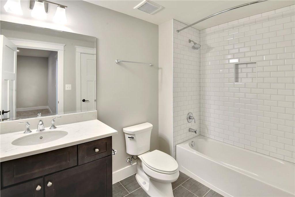 Bathroom Build 607 Kingsley Vienna VA